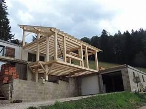 Extension Maison Bois Kit : kit maison ossature bois pas cher boismaison ~ Melissatoandfro.com Idées de Décoration
