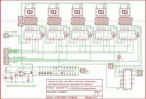 Frequency Counter  Counter Schematic
