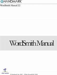 Handmark 2 Users Manual