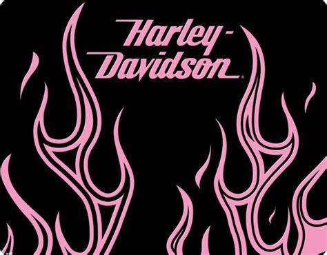 Harley Davidson Logo With Flames