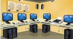 School Computer Lab Clipart - ClipartXtras