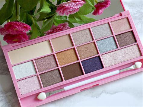 makeup revolution pink fizz palette review  swatches mummys beauty corner