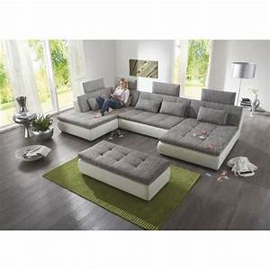 Xxl Sofa Mit Hocker : big sofa hocker free sofa grau schwarz details zu claudia xxl ecksofa couch sofa mit hocker ~ Bigdaddyawards.com Haus und Dekorationen