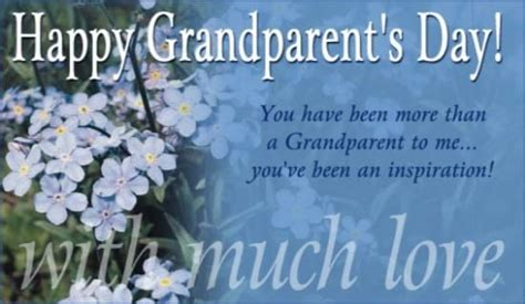 Happy Grandparent's Day Ecard
