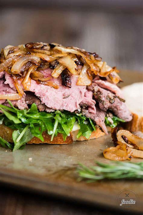 Serve over your favorite noodles. Leftover Prime Rib Recipes - This particular sandwich ...
