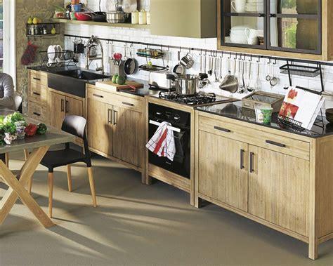 meubles cuisine bas meuble de cuisine bas avec plan de travail de 110 cm à