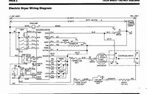Kenmore Dryer Thermostat Wiring Diagram