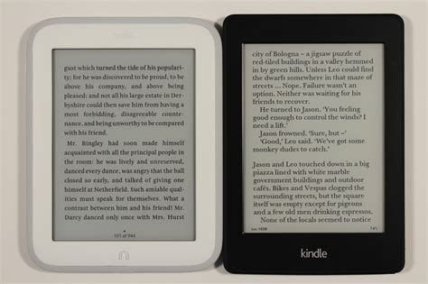 Amazon Kindle Paperwhite 2 Vs Nook Glowlight