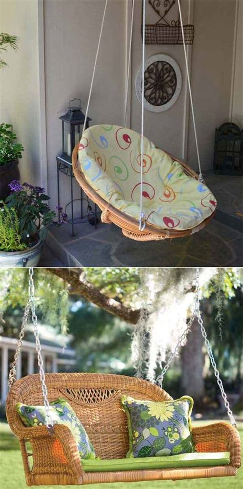 amazingly diy patio  garden swings amazing diy