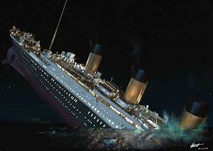 Titanic Sinking Wallpapers - Wallpaper Cave