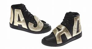 jeremy scott x adidas letters black gold nice kicks With adidas letters shoes