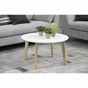Table Basse Scandinave Blanche : table basse bolina grande table basse style scandinave blanche mykaz ~ Teatrodelosmanantiales.com Idées de Décoration