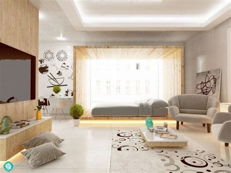Living And Sleeping Areas Exist In Harmony In These Comfortable Studio Spaces living and sleeping areas exist in harmony in these