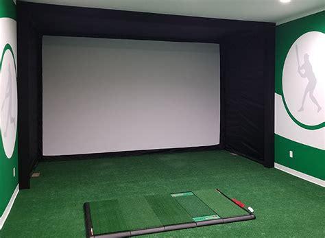 build  brag worthy golf simulator carls place