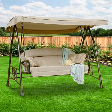 replacement canopy for garden oasis deluxe swing garden winds
