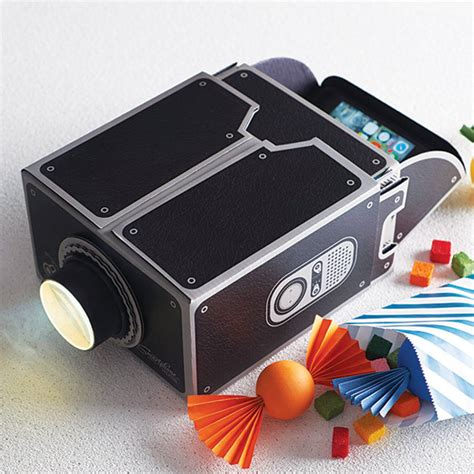 diy iphone projector smartphone projector by luckies notonthehighstreet 2126
