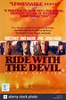 FILM POSTER RIDE WITH THE DEVIL (1999 Stock Photo, Royalty ...