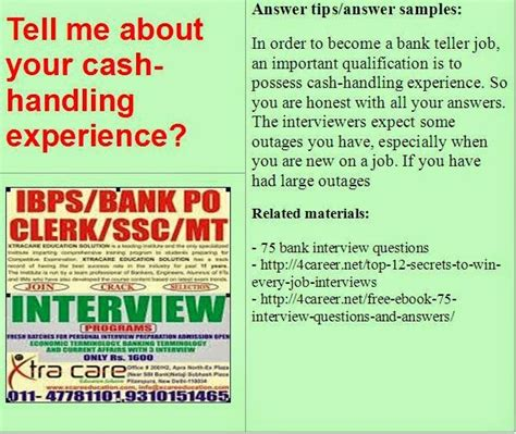 Bank Teller Questions And Answers Exles by 15 Best Images About Bank Questions On