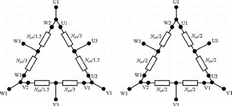Diagram The Star Connected Tapped Winding With Two Per