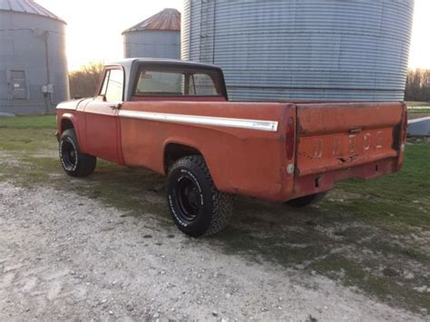 You will receive new listings daily that match your search from autabuy.com. 1970 Dodge 3/4 Ton W200 4x4 Powerwagon 318 V8 4spd ...