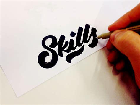fancy hand lettering fonts design  tadas