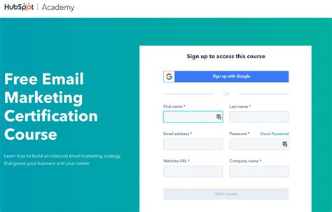 Free Email Marketing Course by 11 Free Marketing Classes Springboard
