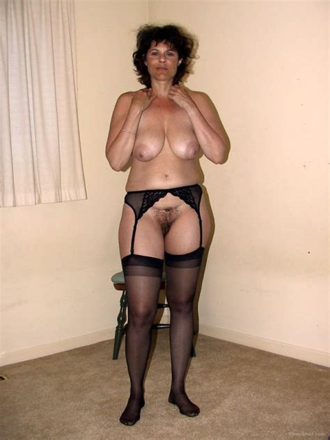 Mature Garter Belt Stockings