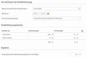 Als Privatperson Rechnung Ausstellen : kinderbetreuungskosten die gro eltern steuerlich absetzen ~ Themetempest.com Abrechnung