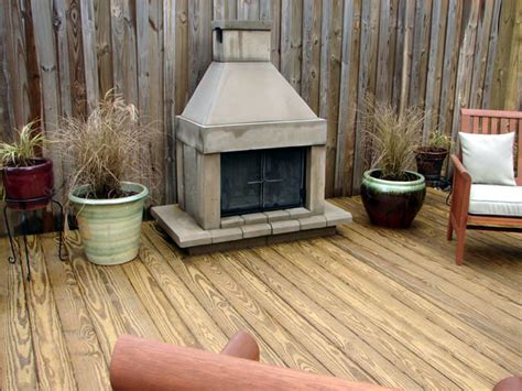 deck fireplaces 66 pit and outdoor fireplace ideas diy network