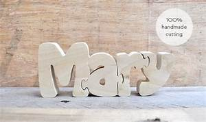 mary wood puzzle letters handmade cutting hand cut wooden With cutting letters into wood