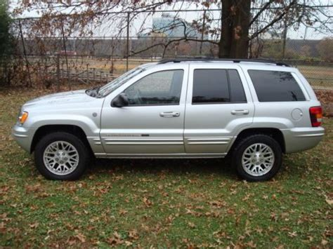 jeep cherokee sunroof purchase used 2004 jeep grand cherokee limited 4 7l v8 4wd