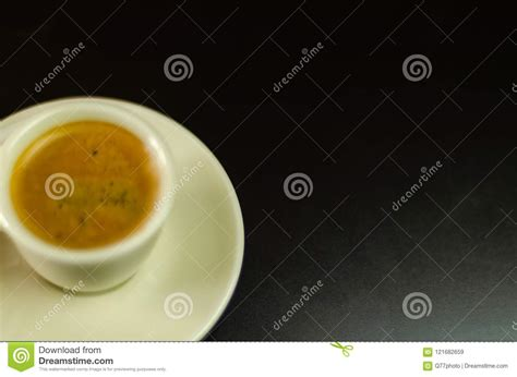 Bold is just a branding coffee is categorized by degree of roast. Black Coffee In A Ceramic Cup On The Bar, Energy Drink In A Public Place Stock Image - Image of ...