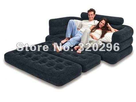 Intex Pull Out Sofa Air Bed Green by High Quality Intex Pull Out Sofa Air Bed Intex 68566 In