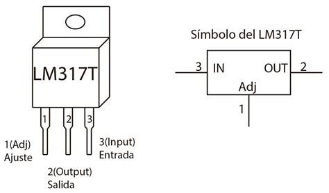 lm317t lm317 regulador de voltaje variable 1 2v a 37v 1 5 3 000 en mercado libre