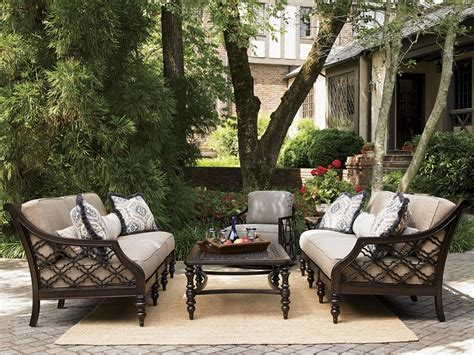 bahama outdoor living black sands outdoor sofa with