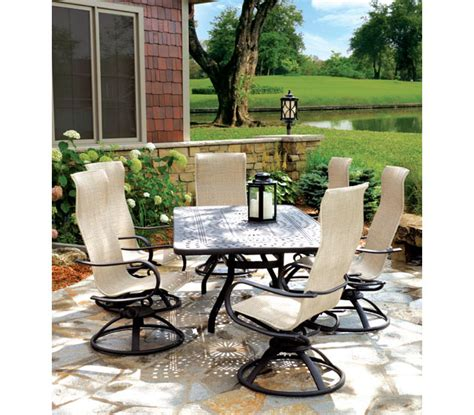 Homecrest Patio Furniture by Homecrest Hill Sling Patio Furniture Marina Pool