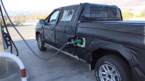 2019 Chevrolet Diesel by 2019 Chevy Silverado Half Ton Spied Filling Up With