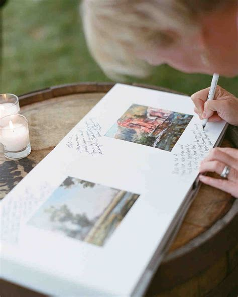 Wedding Guest Book by 46 Guest Books From Real Weddings Martha Stewart Weddings