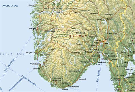 home design diy kaart zuid noorwegen