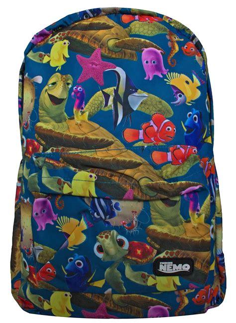 Amazon.com: Loungefly Disney Finding Nemo Printed Backpack ...