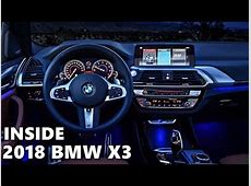 2018 BMW X3 INTERIOR Features & Equipment YouTube