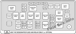 2009 Chevy Aveo Fuse Box Diagram