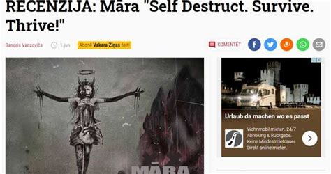 EP Review on nra.lv [in Latvian] > MĀRA - Death Metal Band