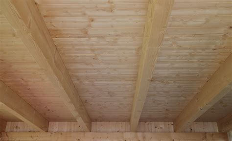 Holzdecke Streichen Mit Kronen® Holzisolier Und