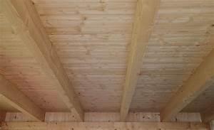 Holzdecke Streichen Mit Kronen Holz Isolier Und