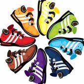 Running shoes Clipart Illustrations. 925 running shoes ...