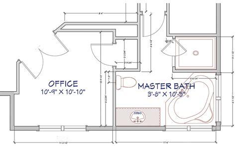 Bathroom Floor Plans by Masculine Modern Farmhouse Bathroom Floor Plan Jillian