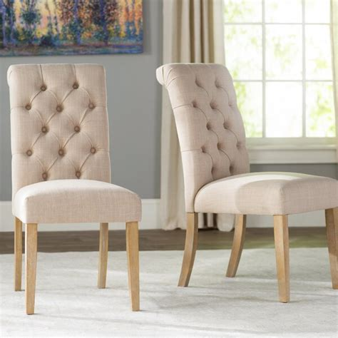 lark manor pompon tufted side chair reviews wayfair