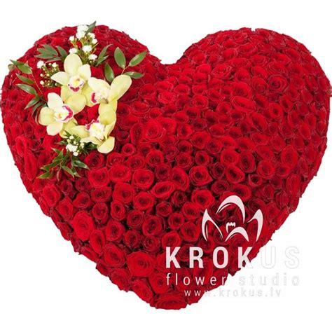 Sirds no rozēm Tu esi manā sirdī ar piegādi pa Rīgu ...