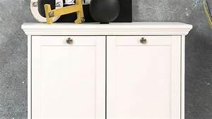 Kommode Weiß Mit Türen : kommode landhausstil landwood stauraumelement wei mit 2 t ren ~ Bigdaddyawards.com Haus und Dekorationen